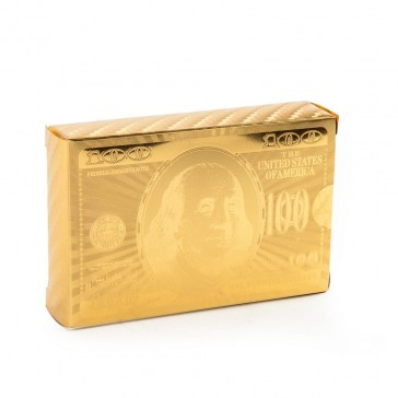24ct Gold Plated Playing Cards
