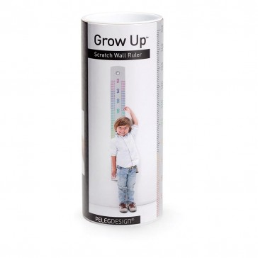 Grow Up - Scratch Wall Ruler