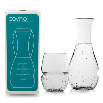 Govino Glass + wine decanter / water carafe