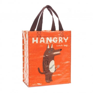 Hangry Lunch Tote Bag - Blue Q