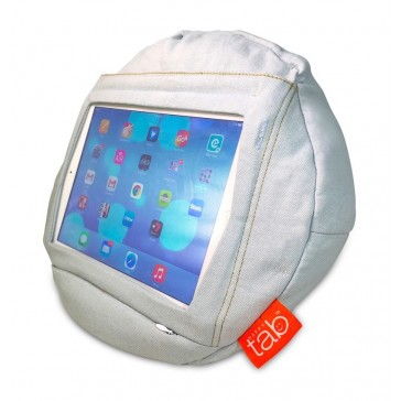 HAPPYtab iPad Cushion Beanbag Pillow by tabCoosh Weekend Jeans
