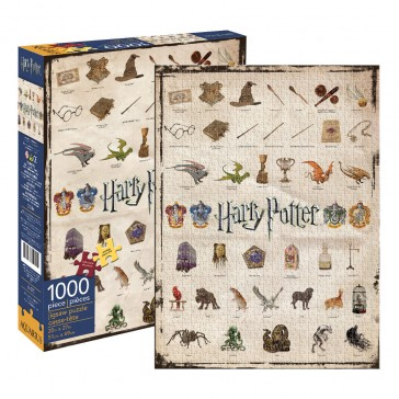 Harry Potter Icons 1000pc Puzzle