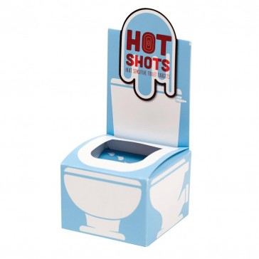 Hot Shots Heat Sensitive Toilet Targets