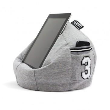 iCrib Tablet Bean Bag Cushion - Grey Hoodie