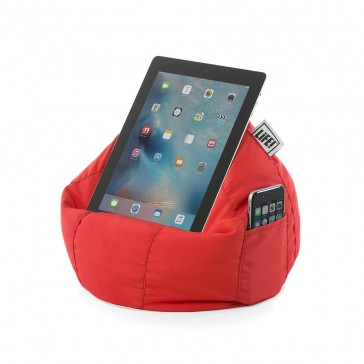 iCrib Tablet Bean Bag Cushion - Solid Red Polyester