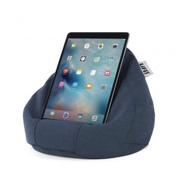 iCrib Tablet Bean Bag Cushion - Navy Linen Look