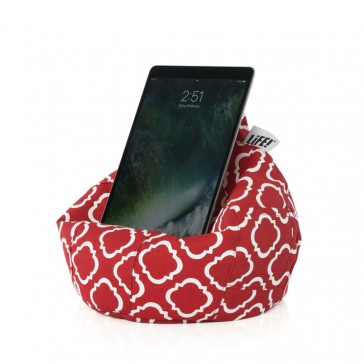 iCrib Tablet Bean Bag Cushion - Flame Scarlet Red Tile
