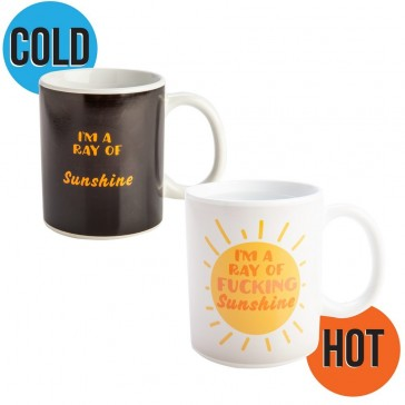 I'm a Ray of F*#King Sunshine Heat Changing Mug