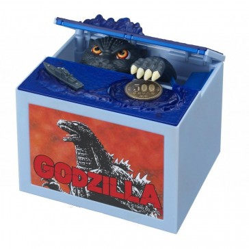 Itazura Coin Stealing Godzilla Money Box