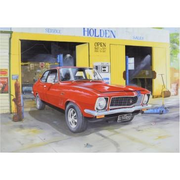 Holden Torana GTR XU1 Garage Tin Sign