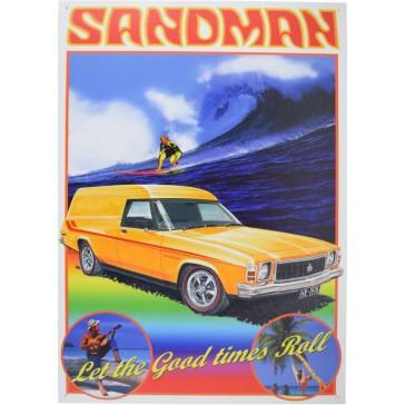 Holden Sandman 1978 HX Tin Sign