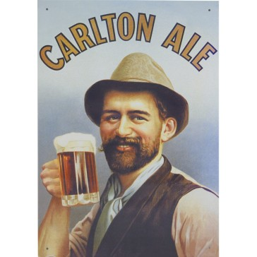 Carlton Ale Tin Sign