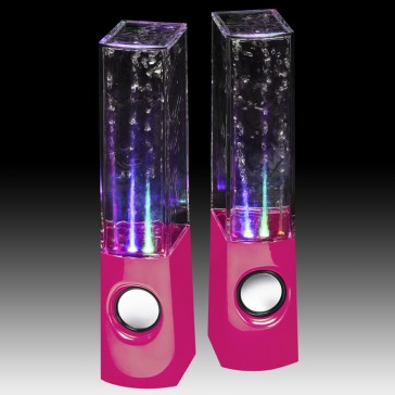 JINX Liquid Sound Speakers Pink