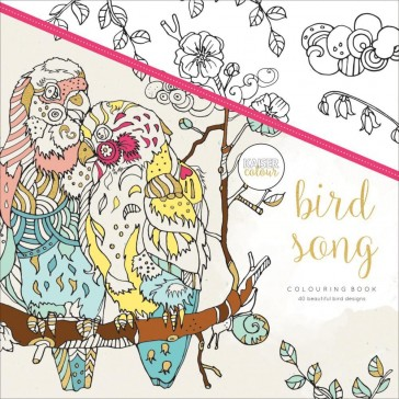 Kaisercolour Colouring Book - Bird Song