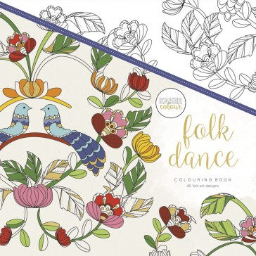 Kaisercolour Colouring Book - Folk Dance