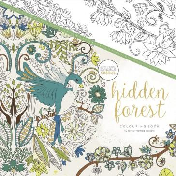 Kaisercolour Colouring Book - Hidden Forest