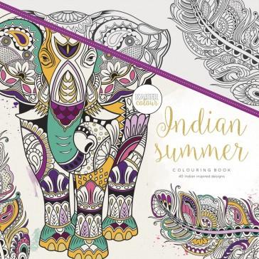 Kaisercolour Colouring Book - Indian Summer