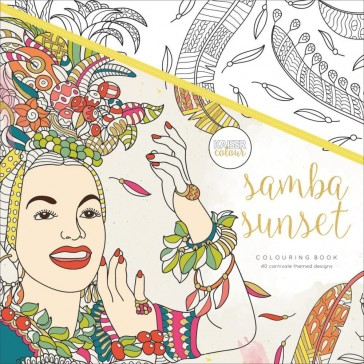 Kaisercolour Colouring Book - Samba Sunset