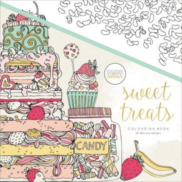Kaisercolour Colouring Book - Sweet Treats