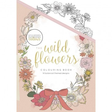 Kaisercolour Colouring Book - The Wild Flowers