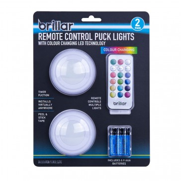 Remote Control Multi Coloured LED Lights - Colour Changing