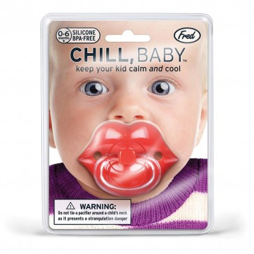 Fred & Friends - Lips Pacifier Dummy - Chill Baby