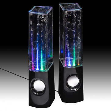 JINX Liquid Sound Speakers - Black