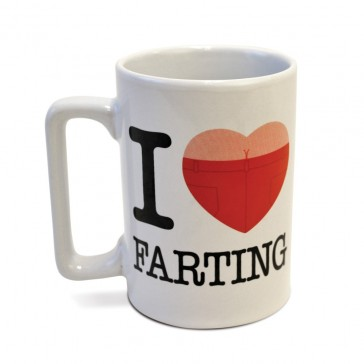 I Love Farting Talking Mug