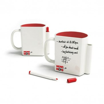 Memo Mug - Writable Mug & Pen