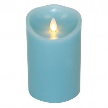 "Luminara Candle Flameless LED - 3.5 x 5"" - Ocean Breeze"