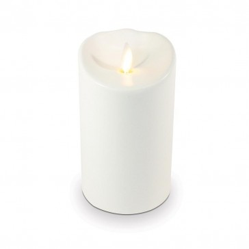 Luminara Flameless LED Outdoor Candle - Ivory 3.5 x 5""