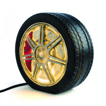 Mag Wheel Table Lamp