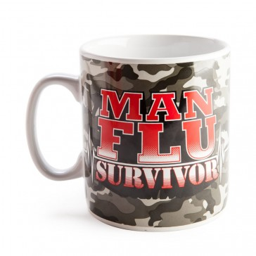 Man Flu Survivor - Giant Mug