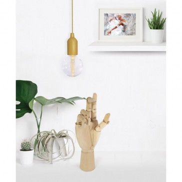 Manikin Anatomical Wooden Hand Gesture Jewellery Stand