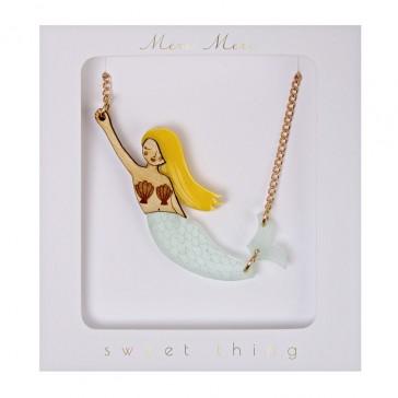 Meri Meri Sweet Thing Mermaid Necklace