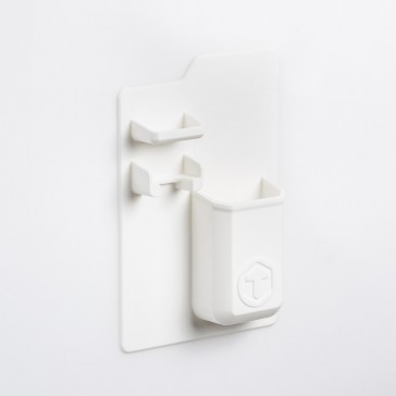 Mighty Toothbrush Holder - White