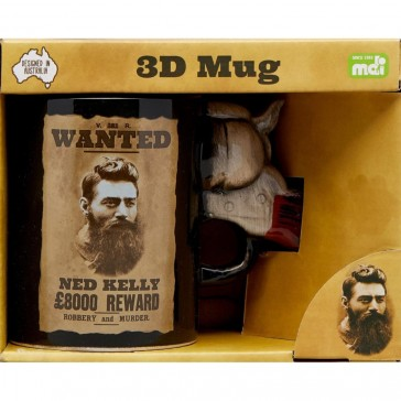 Ned Kelly 3D Pistol Mug
