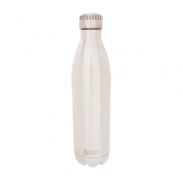 Stainless Steel Insulated Drink Bottle 750ml - Silver