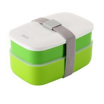 Oasis Bento Lunch Box - Green