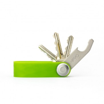 Orbitkey Active Green – key organiser keyring clip pocket