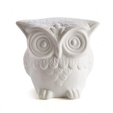 Owl LED Night Light - Ceramic