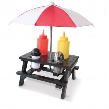 PICNIC Condiment Set with Umbrella