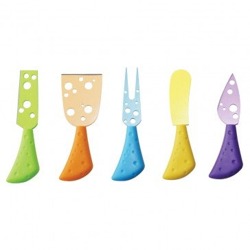 Pizzazz - Cheese Lovers Knife Set