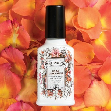 Poo Pourri Rose Geranium 59ml (2oz)