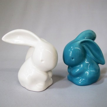 Porcelain Rabbit Blue