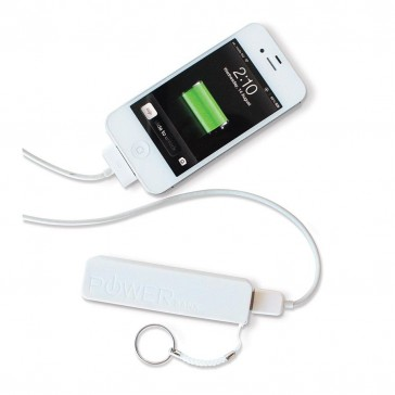 Mobile Phone Power Bank White