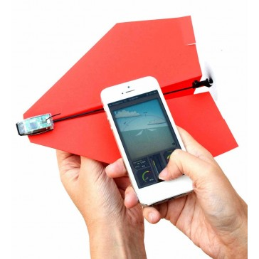 PowerUp 3.0 - Smartphone Controlled Paper Aeroplane Conversion Kit