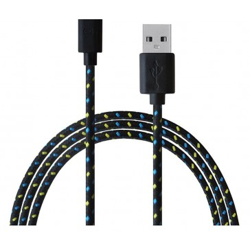 Reach - 3M USB Charging Cable - iPhone - Black