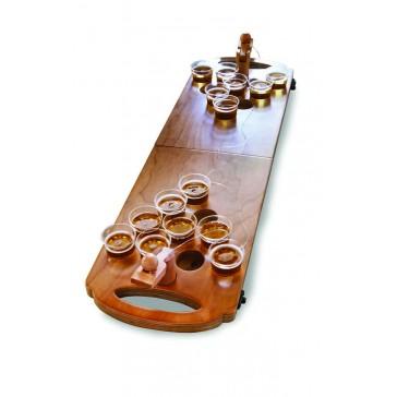 Wooden Tabletop Beer Pong