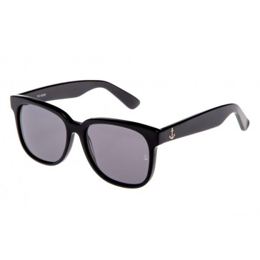 Royal Aquamarine The Hearst Midnight Black Sunglasses